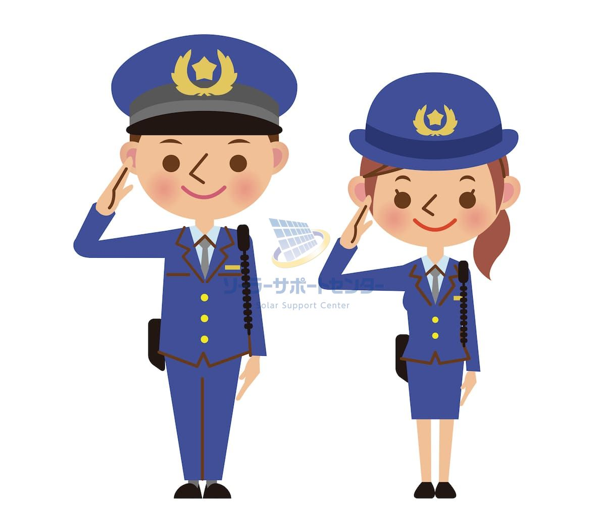 警官の画像
