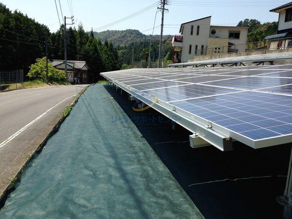 太陽光発電の防草シート