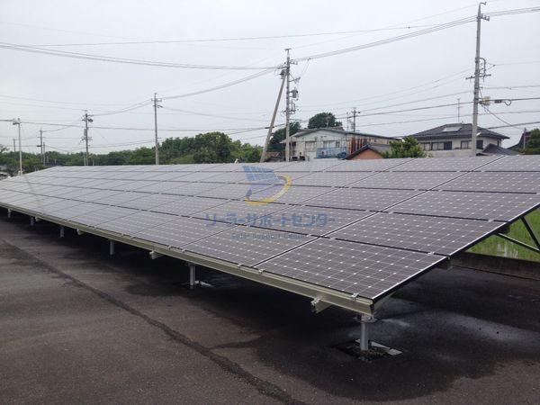 太陽光発電とアスファルト