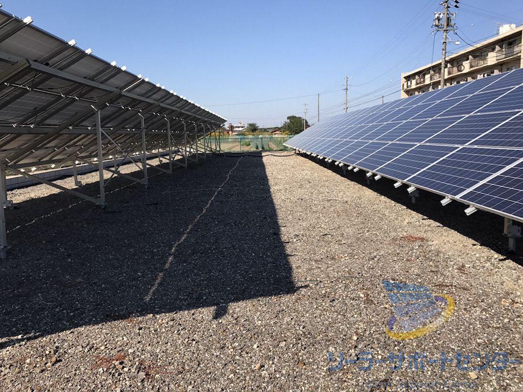 太陽光発電のアレイ間クリアランスの重要性