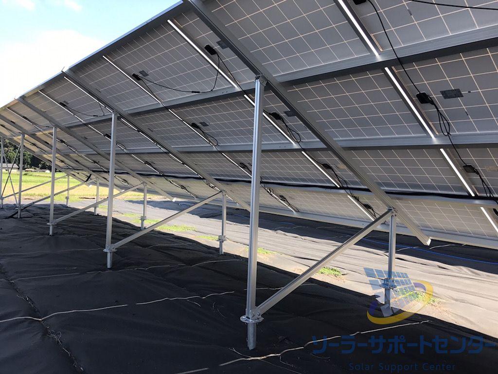 太陽光発電の架台強度