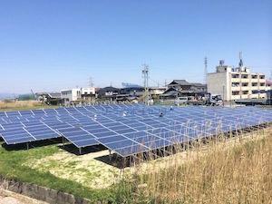 大垣市NM様の発電所外観写真