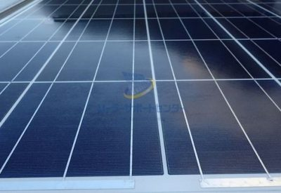 太陽光パネルのアップ写真