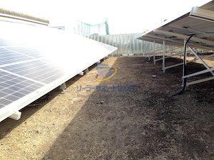 植栽シート敷設前の写真2
