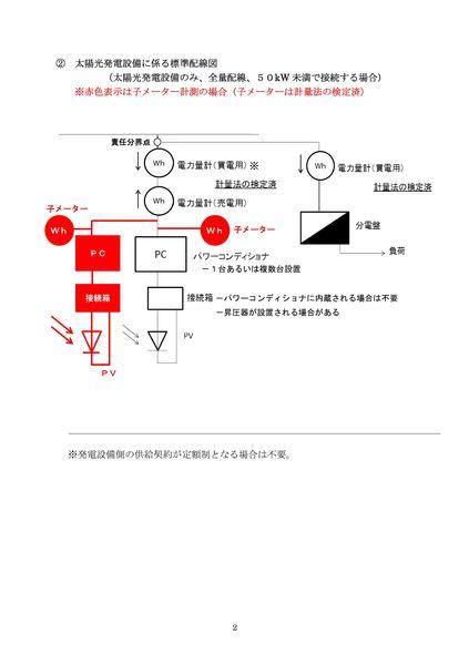 10kW以上の標準配線図