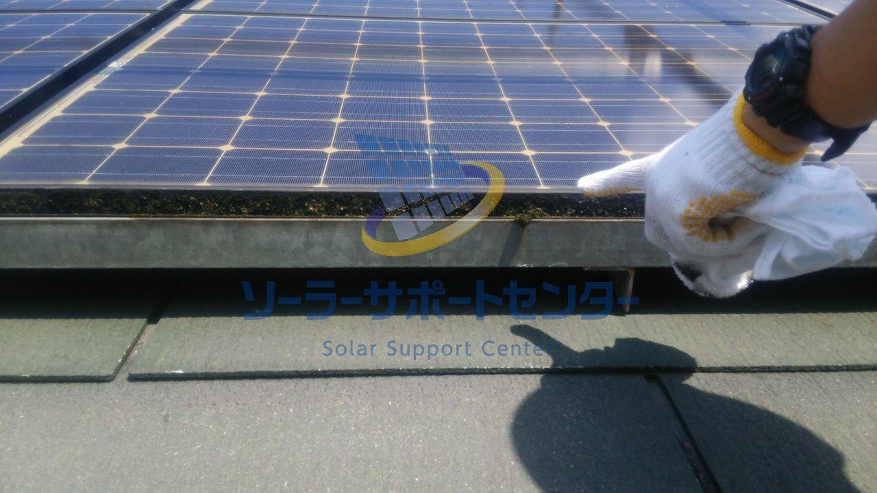 太陽光架台の目視点検