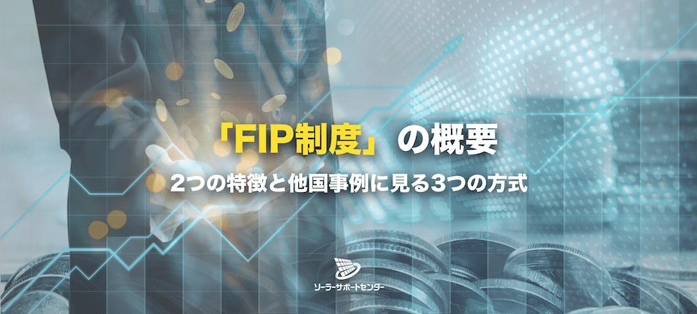 FIP制度の概要