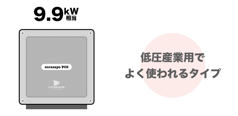 9.9kWパワコンの交換費用